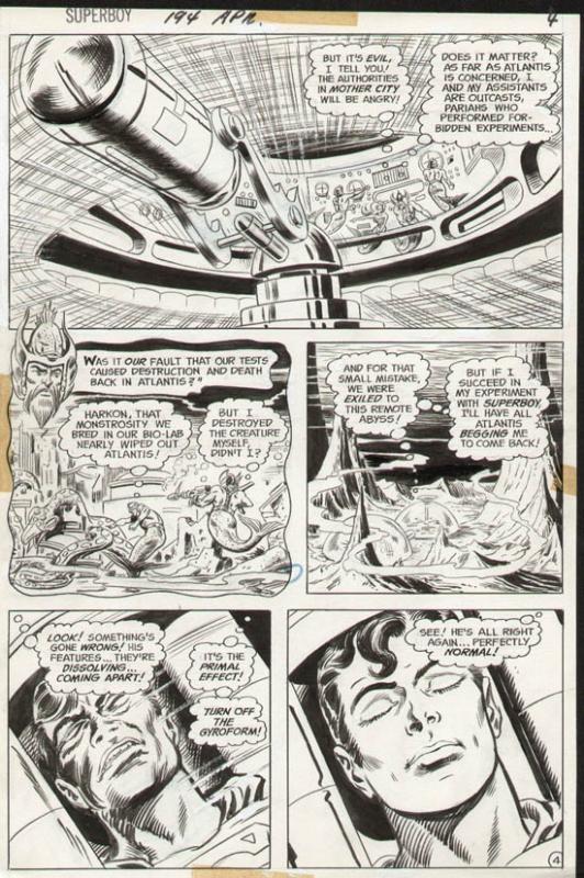 Superboy #194 p 4 (1972)