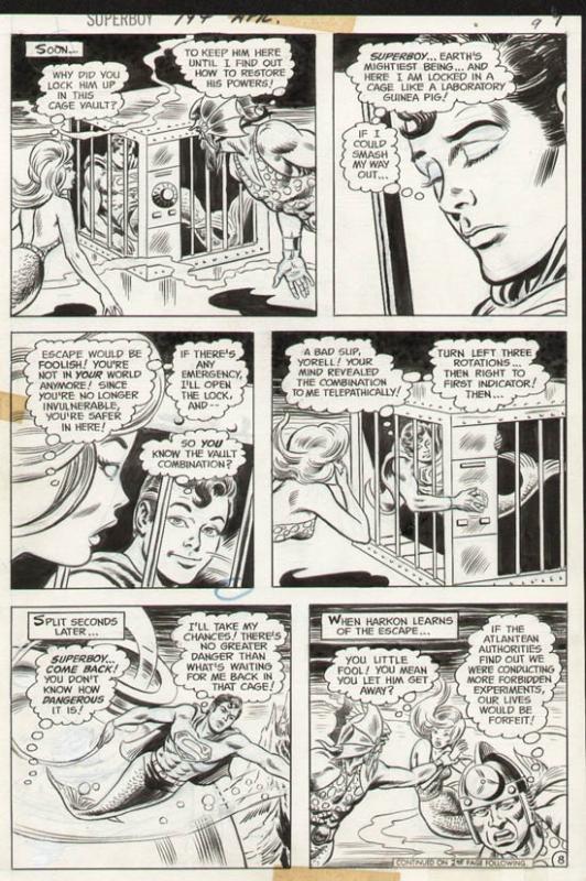 Superboy#194 p 8 (1972)