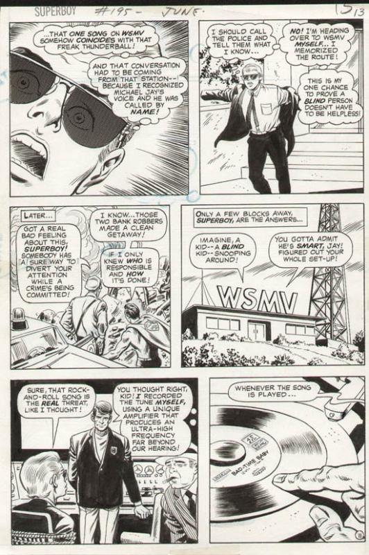 Superboy #195 p 11 (1973)