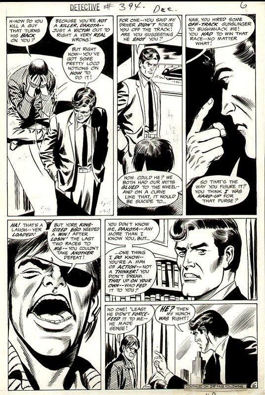 Detective Comics #394 p 6 (1969)
