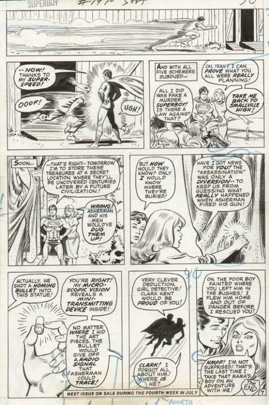 Superboy #197 p 7 (1973)