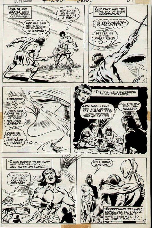 Superman #260 p 4 (1972)