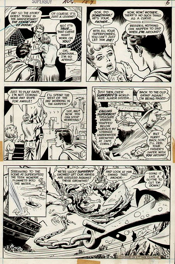 Superboy#189 p 6 (1972)