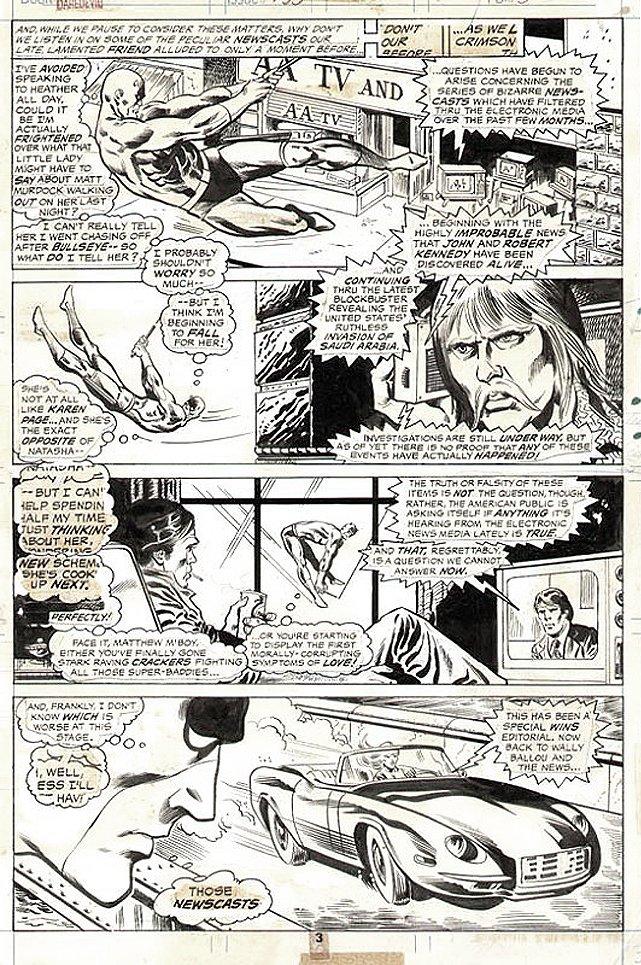 Daredevil #133 p 3 (1976)