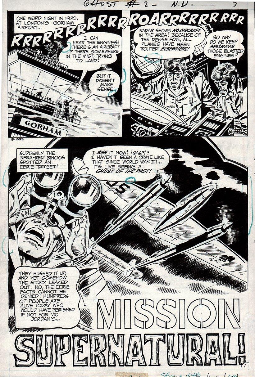 Ghosts #2 p 1 SPLASH (1971)