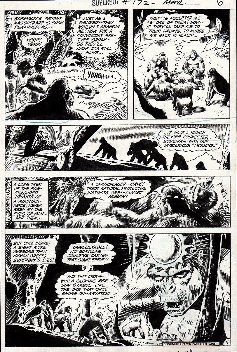 Superboy #172 p 6 (1970)