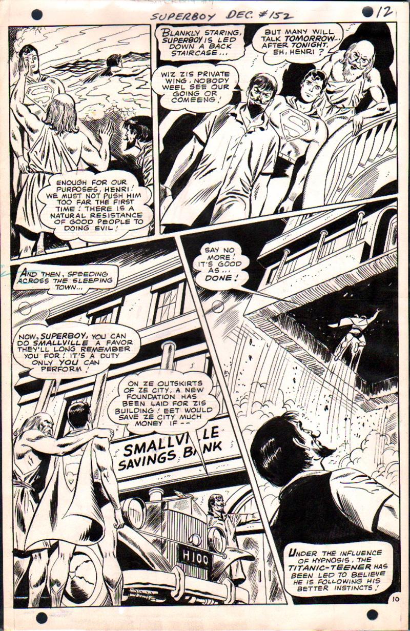 Superboy #152 p 10 (1968)