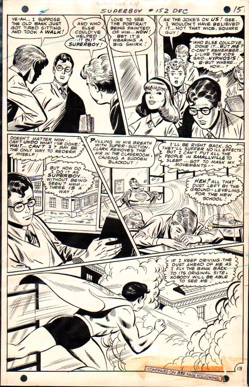 Superboy #152 p 13 (1968)