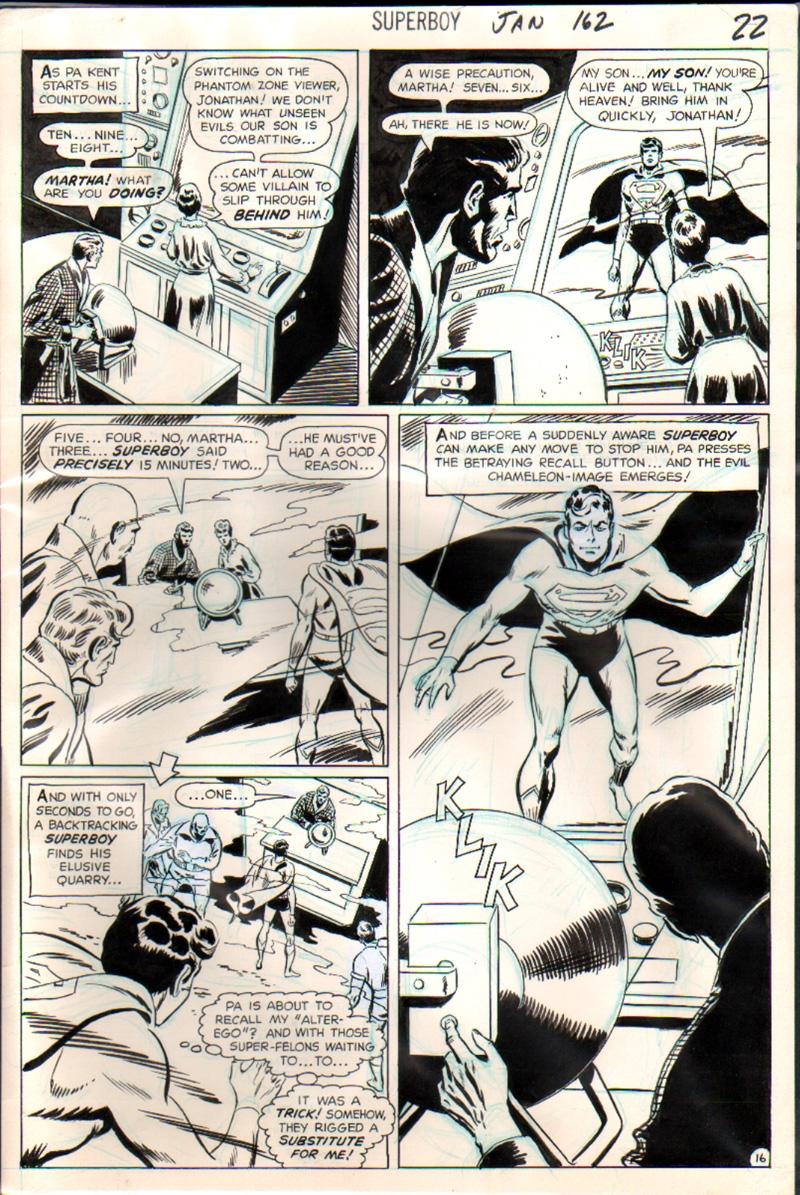 Superboy #162 p 16 (1968)