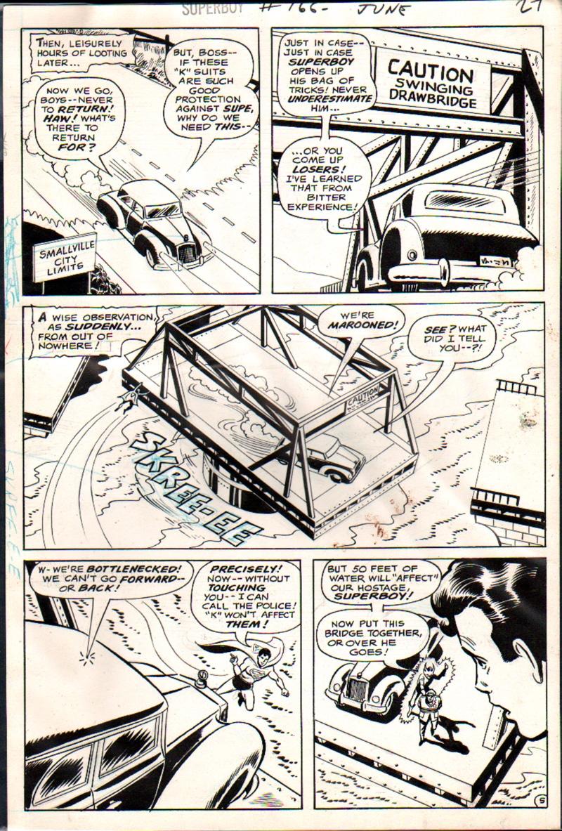 Superboy #166 p 5 (1970)