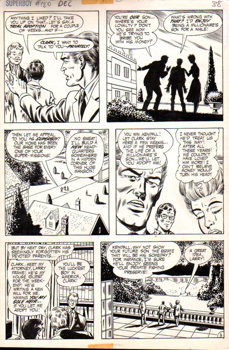 Superboy #180 p 3 (1971)