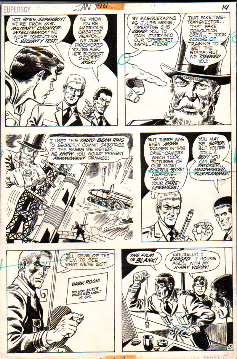 Superboy #181 p 13 (1971)