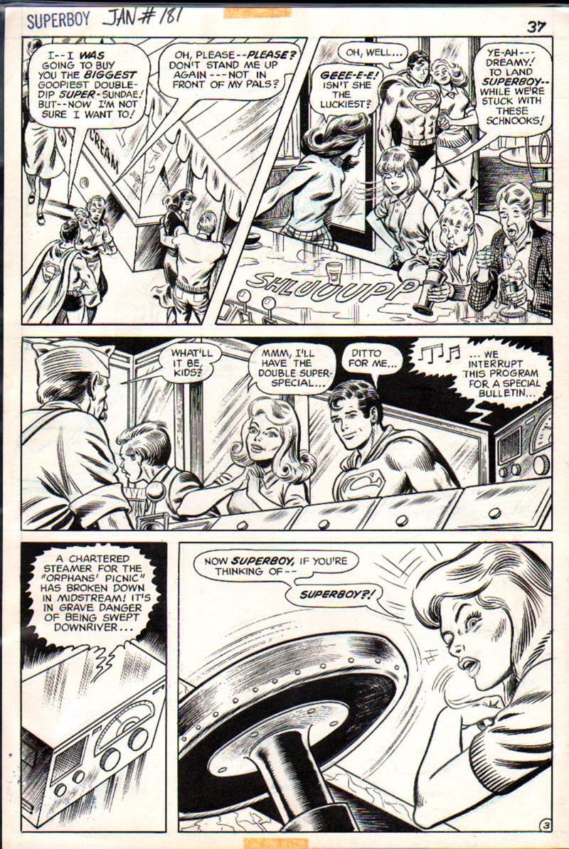 Superboy #181 p 3 (1971)