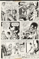 Superboy Issue 186 Page 10 (1972) Comic Art