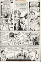 Superboy Issue 186 Page 12 (1972) Comic Art