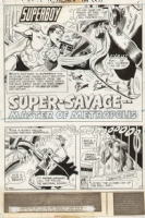 Superboy Issue 188 Page 1 SPLASH (1972) Comic Art
