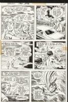 Superboy Issue 194 Page 13 (1972) Comic Art