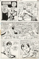 Superboy Issue 189 Page 5 (1972) Comic Art