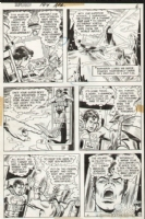 Superboy Issue 194 Page 6 (1972) Comic Art