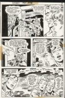 Superboy Issue 194 Page 12 (1972) Comic Art