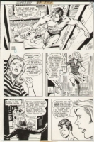 Superboy Issue 188 Page 13 (1972) Comic Art