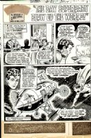 Superboy Issue 167 Page 1 SPLASH (1970) Comic Art