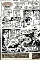Superboy #167 p 1 SPLASH (1970) Comic Art