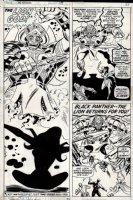 Avengers #114 p 21 (1973) Comic Art