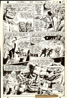 Challengers Of The Unknown #62 p 6 (1968) Comic Art