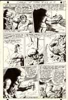 Challengers Of The Unknown #62 p 7 (1968) Comic Art