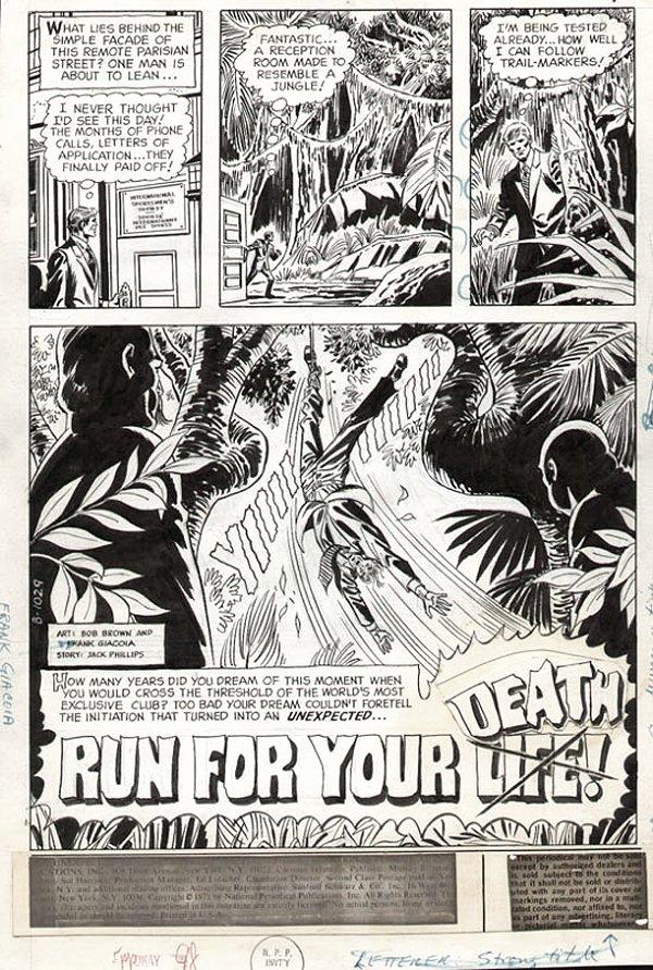 Unexpected #131 p 1 SPLASH (1971)