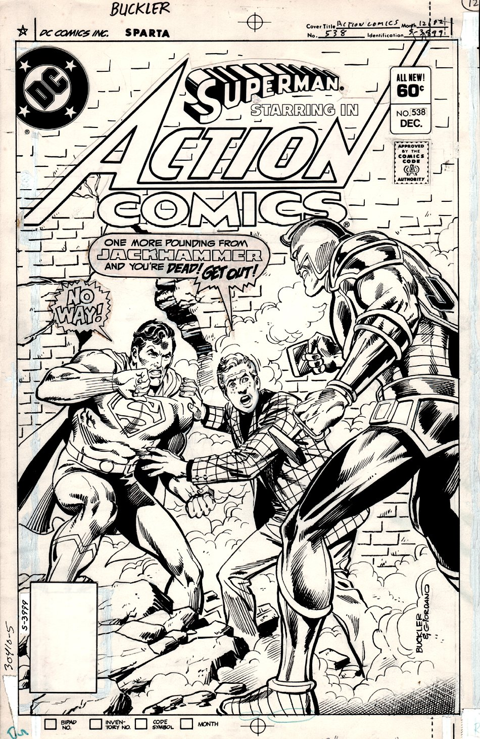 Action Comics #538 Cover (1982)