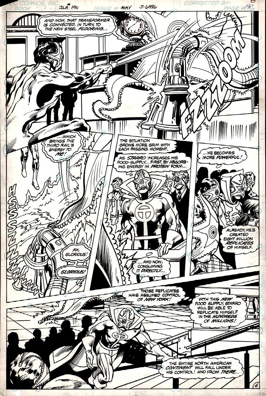 Justice League of America #190 p 6 (1981)