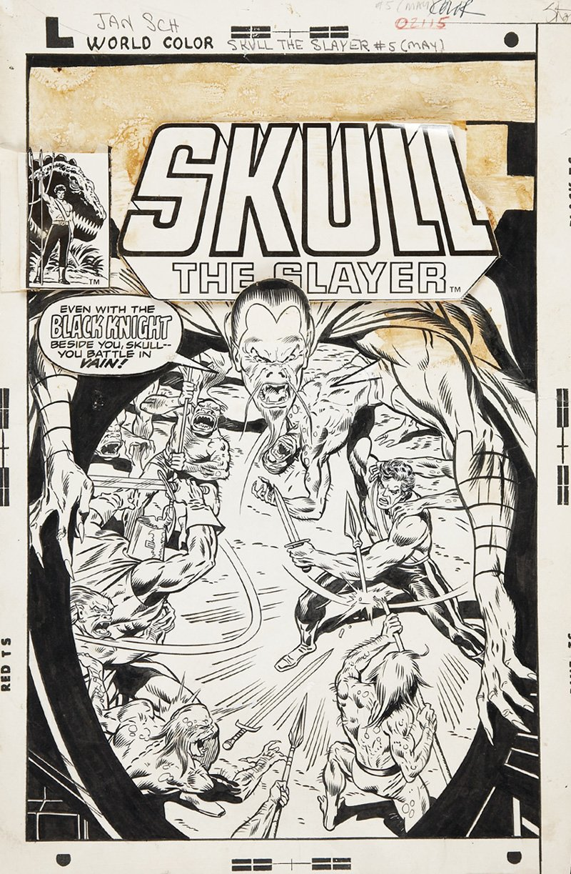 Skull The Slayer #5 Cover (1976)