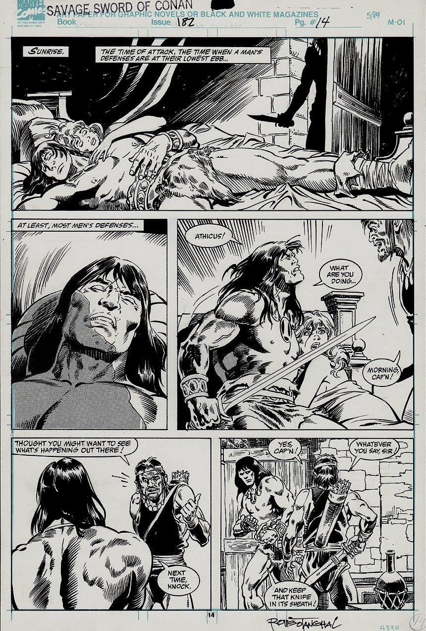 Savage Sword of Conan #182 p 14 (1990)