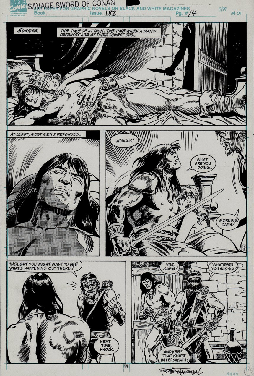 Savage Sword of Conan #182 p 14 (1990)