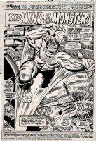 Giant-Size Super-Stars #1 p 1 SPLASH (1974) Comic Art