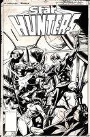 Star Hunters #2 Cover (1977) Comic Art