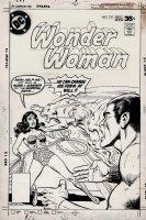 Wonder Woman #238 Unpublished Cover (1977) Comic Art