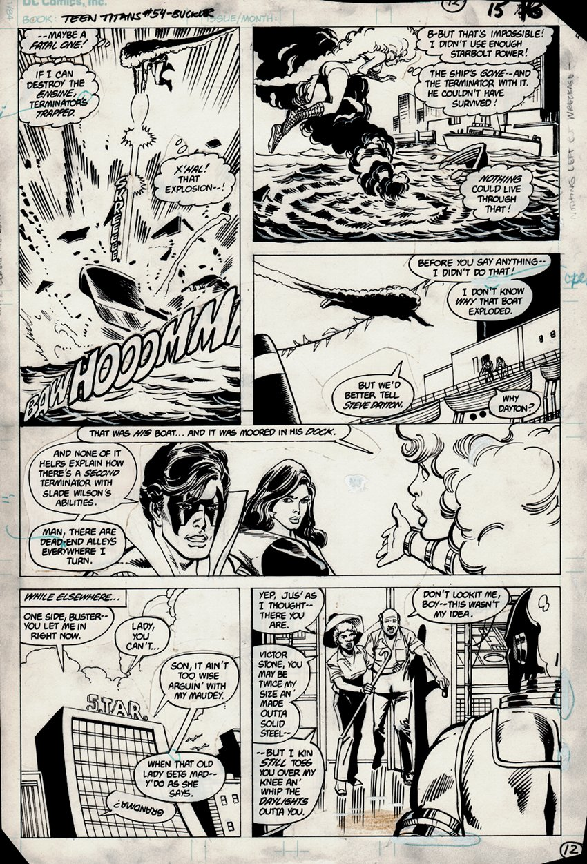 Tales of the Teen Titans #54 p 12 (1983)