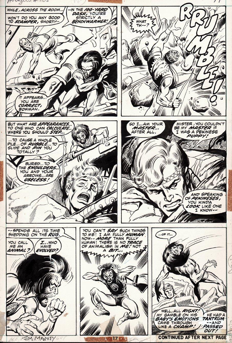 Avengers #105 p 17 (1972)