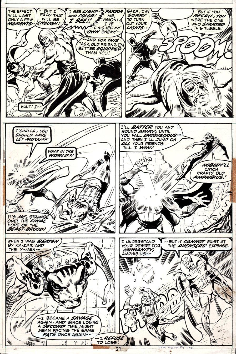 Avengers #105 p 21 (1972)
