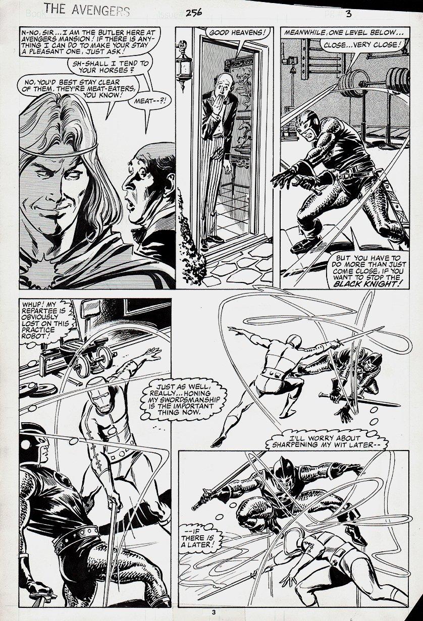 Avengers #256 p 3 (1985)