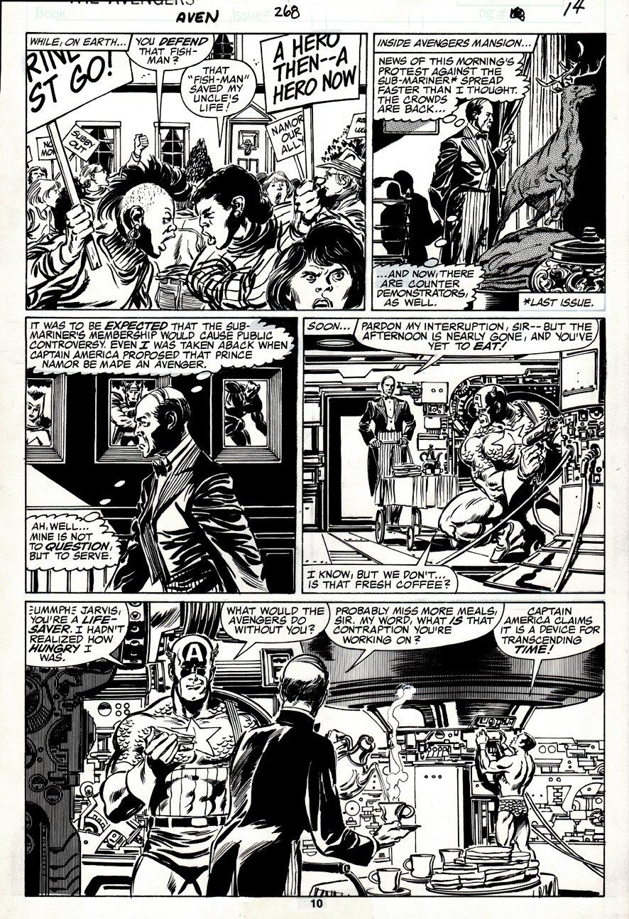 Avengers #268 p 10 (1986)