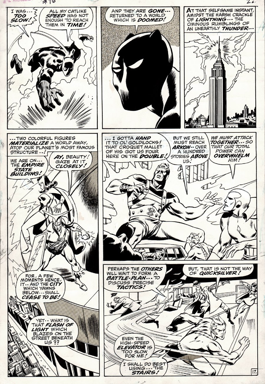 Avengers #76 p 17 (1970)