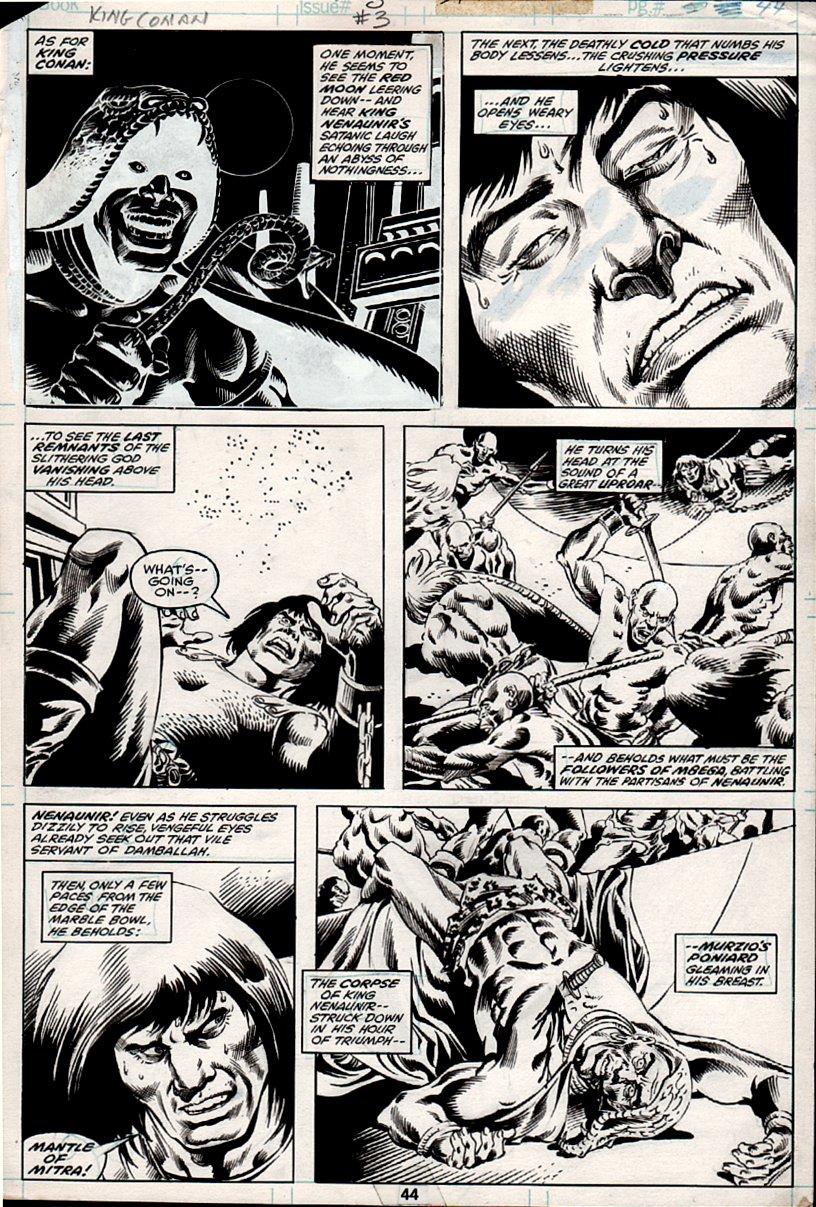 King Conan #3 p 44 (1980)