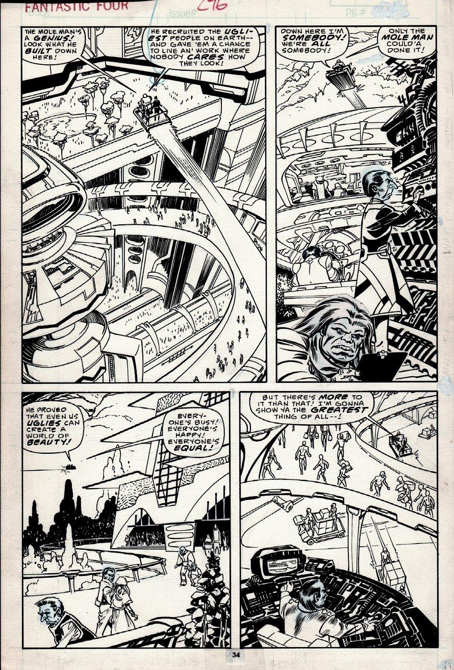 Fantastic Four #296 p 34 (1986)