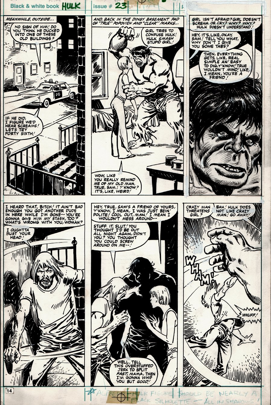 Hulk #23 p 14 (1980)