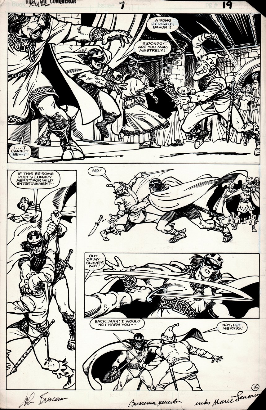 Kull the Conqueror #7 p 15 (1984)