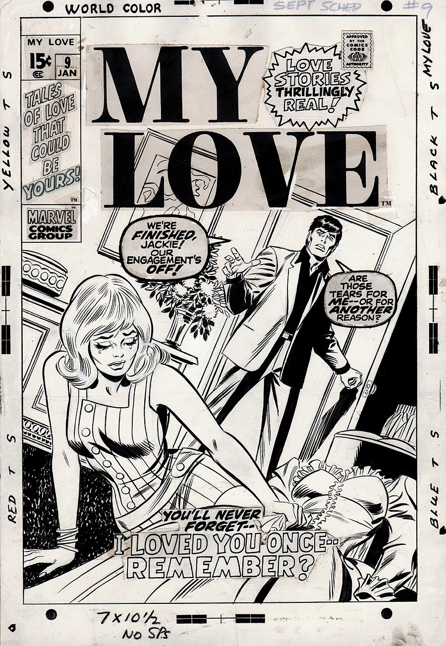 My Love #9 Cover (1970)